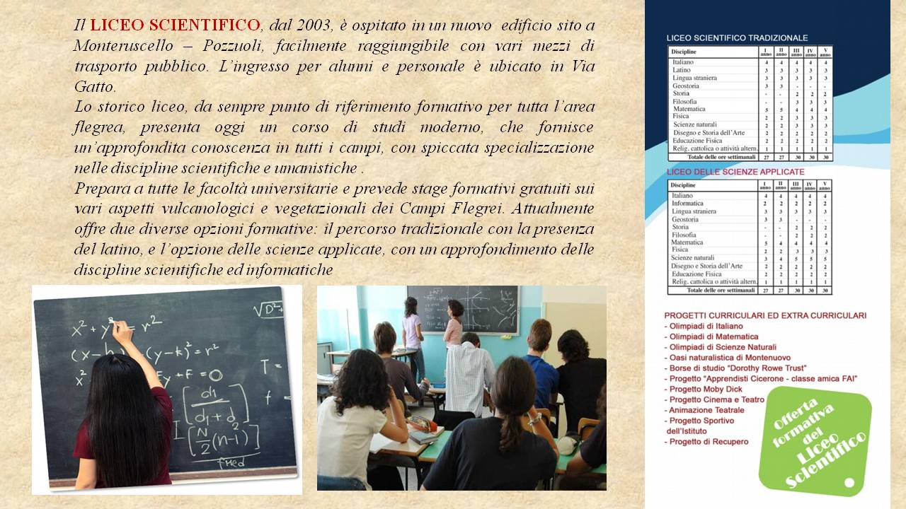 Liceo Majorana - il liceo scientifico