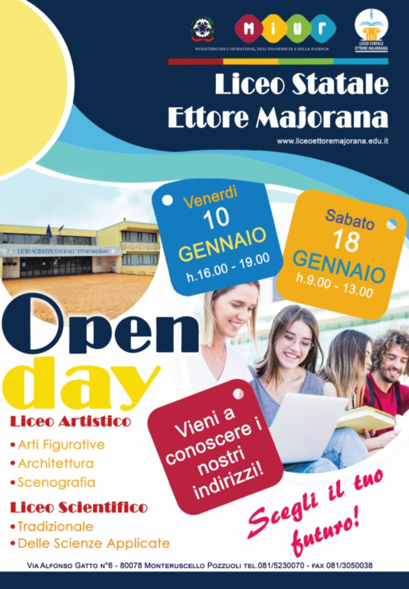 Open day a. s. 2020/2021